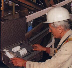 chart recording, Meraster NDT, wire rope inspection, examination in-service