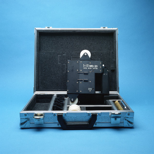 Zawada NDT Wire rope inspection / MD-20 Wire Rope Tester MD-25 ...
